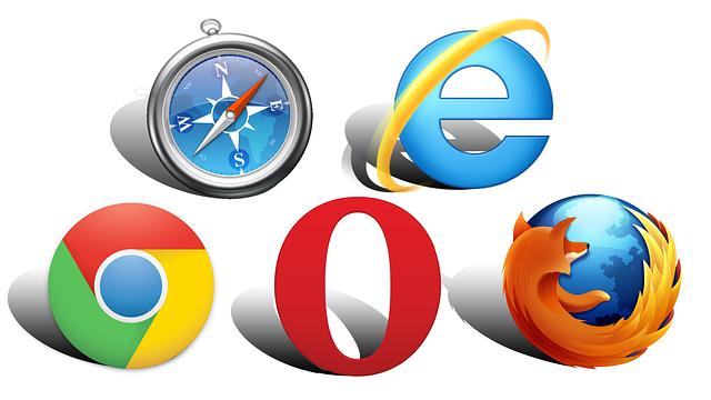 ikony vyhledávačů